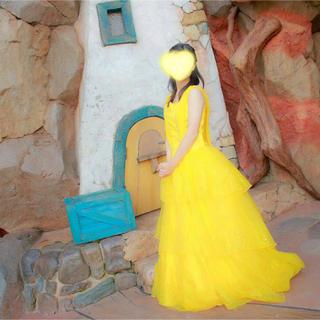 実写版 美女と野獣 黄色ドレス(その他ドレス)
