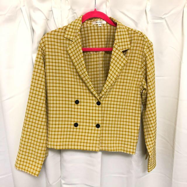 moussy(マウジー)の美品!マウジー チェック シャツ ブラウス レディースのトップス(シャツ/ブラウス(長袖/七分))の商品写真