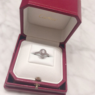 Cartier - 新品仕上げ カルティエ  デスティネ リング 指輪