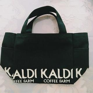 KALDI - KALDI 黒 ミニトートバッグ 2020福袋