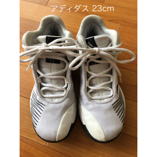 アディダス(adidas)のアディダス バッシュ バスケ シューズ 23cm(バスケットボール)