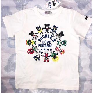 DOUBLE.B - 新品タグ付き ミキハウス ダブルB 半袖Tシャツ 110