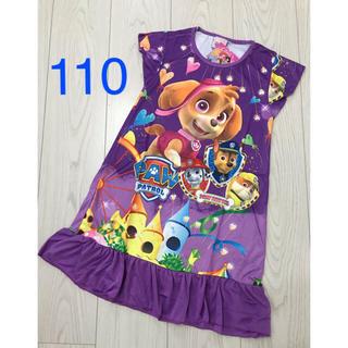 ディズニー(Disney)の【半袖】パウパトロールワンピース 110(ワンピース)