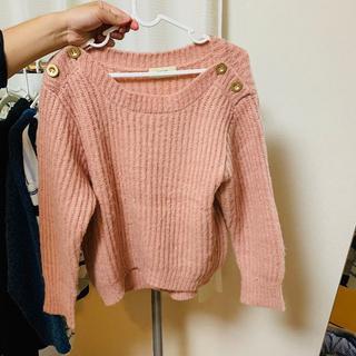 BEAMS - BEAMS(ビームス)ニット・セーター ピンク色