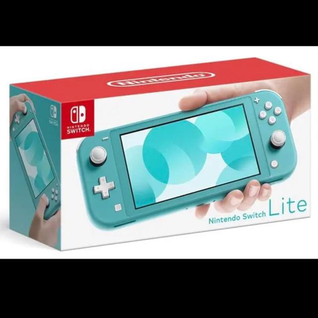 Nintendo Switch(ニンテンドースイッチ)の新品 Nintendo Switch  Lite本体 スイッチライト ターコイズ エンタメ/ホビーのゲームソフト/ゲーム機本体(家庭用ゲーム機本体)の商品写真