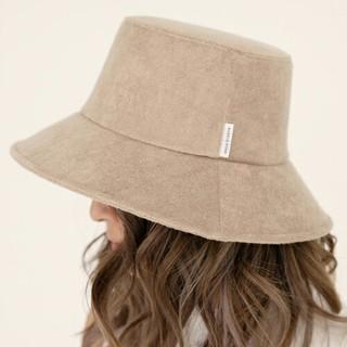 ALEXIA STAM - ALEXIASTAM Terry Cloth Bucket Hat Beige