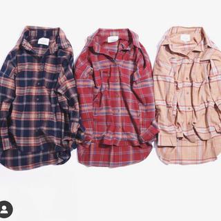 アングリッド(Ungrid)のチェックルーズシャツ(シャツ)