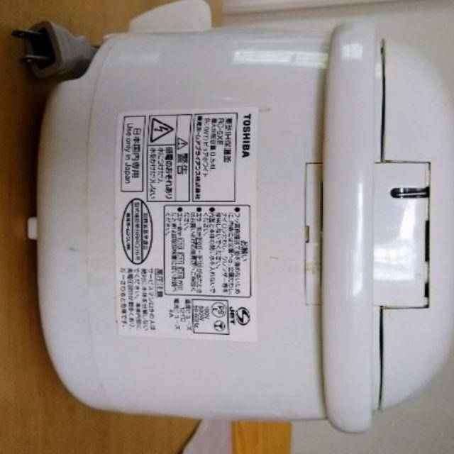 東芝(トウシバ)のTOSHIBA 炊飯器(3合炊き) スマホ/家電/カメラの調理家電(炊飯器)の商品写真