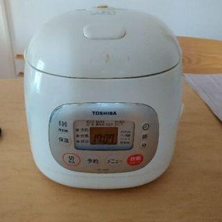 トウシバ(東芝)のTOSHIBA 炊飯器(3合炊き)(炊飯器)