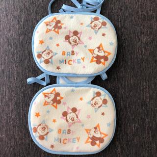 ミッキーマウス チャイルドシート 保冷シート、マット(自動車用チャイルドシートカバー)