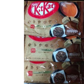Nestle - キットカットほうじ茶3袋