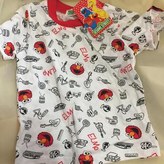 セサミストリート(SESAME STREET)の新品タグ付き‼︎セサミストリートELMO半袖でTシャツ80㎝size(Tシャツ)