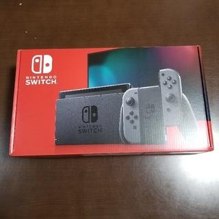 任天堂 - 新品未使用 Nintendo Switch 任天堂 スイッチ 本体 グレー