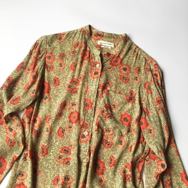 Isabel Marant(イザベルマラン)のイザベルマラン エトワール 花柄 ブラウス トゥモロー plage acne レディースのトップス(シャツ/ブラウス(長袖/七分))の商品写真