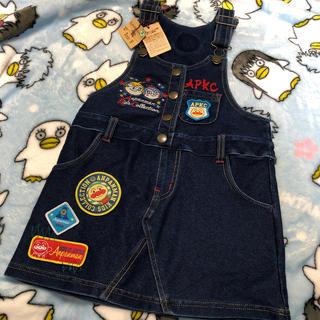 アンパンマン(アンパンマン)の新品 アンパンマン  キッズコレクション  デニム ジャンバースカート 100(ワンピース)