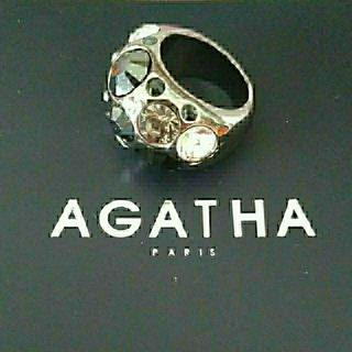 アガタ(AGATHA)のアガタ リング ブラック(リング(指輪))