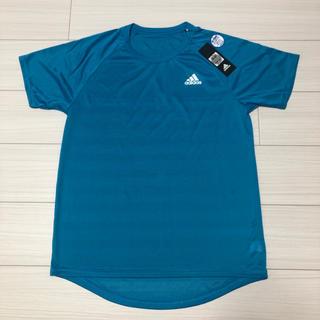新品 adidas アディダス 吸汗速乾 クールネックTシャツ Mサイズ