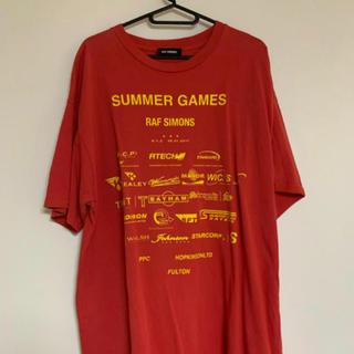 RAF SIMONS - Raf simons summer games tシャツ