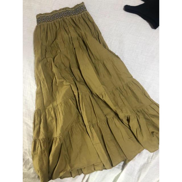 RODEO CROWNS WIDE BOWL(ロデオクラウンズワイドボウル)のマキシ丈スカート レディースのスカート(ロングスカート)の商品写真