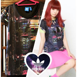 adidas - アディダス きゃりーぱみゅぱみゅ 夜景 Tシャツ タンクトップ ジャージ