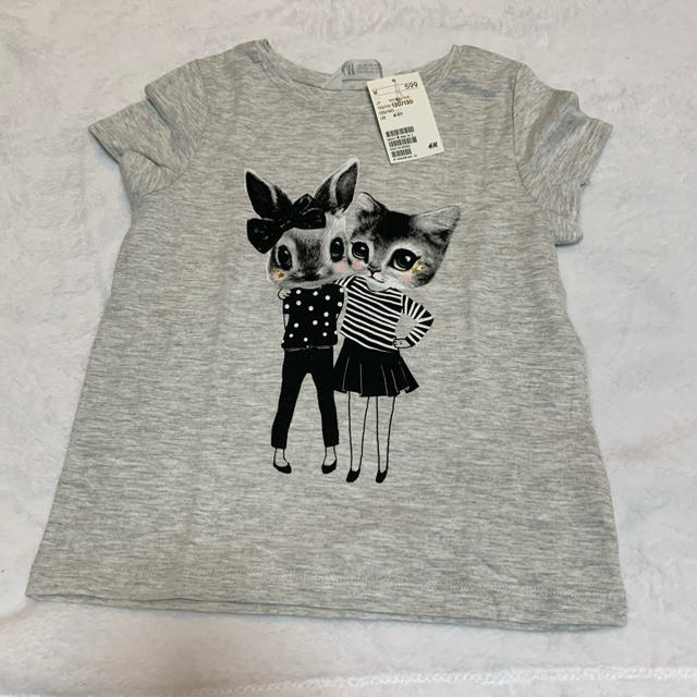 H&M(エイチアンドエム)のTシャツ 120/130 キッズ/ベビー/マタニティのキッズ服女の子用(90cm~)(Tシャツ/カットソー)の商品写真