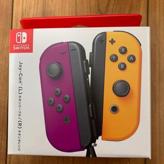 Nintendo Switch - ジョイコン ネオンパープルネオンオレンジ