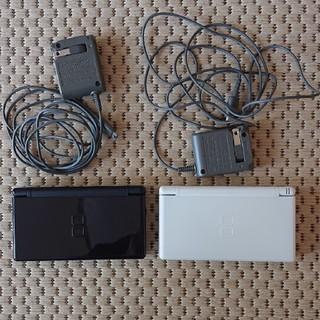 ニンテンドーDS - Nintendo DS本体  黒/白セット