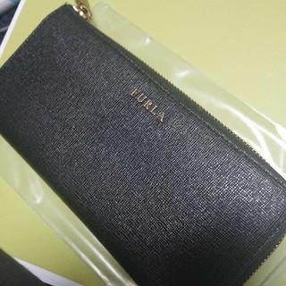 フルラ(Furla)のFURLA長財布👛ブラック箱付き、袋付き(財布)