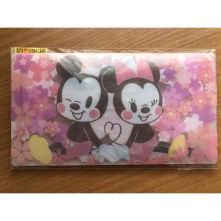 ディズニー(Disney)のマスクケース ミッキー  ミニー さくらシリーズ 台湾限定 マスク収納ケース(その他)