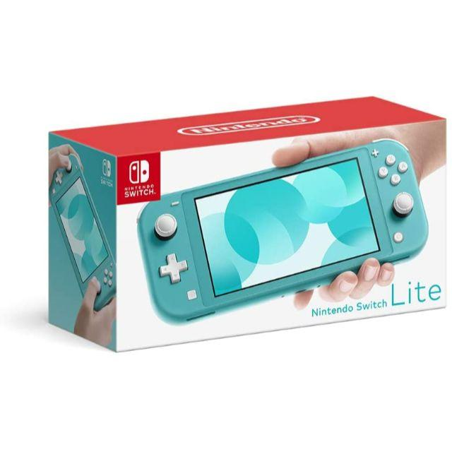 Nintendo Switch(ニンテンドースイッチ)の新品 ニンテンドー スイッチライト ターコイズ Switch Lite 本体 エンタメ/ホビーのゲームソフト/ゲーム機本体(家庭用ゲーム機本体)の商品写真