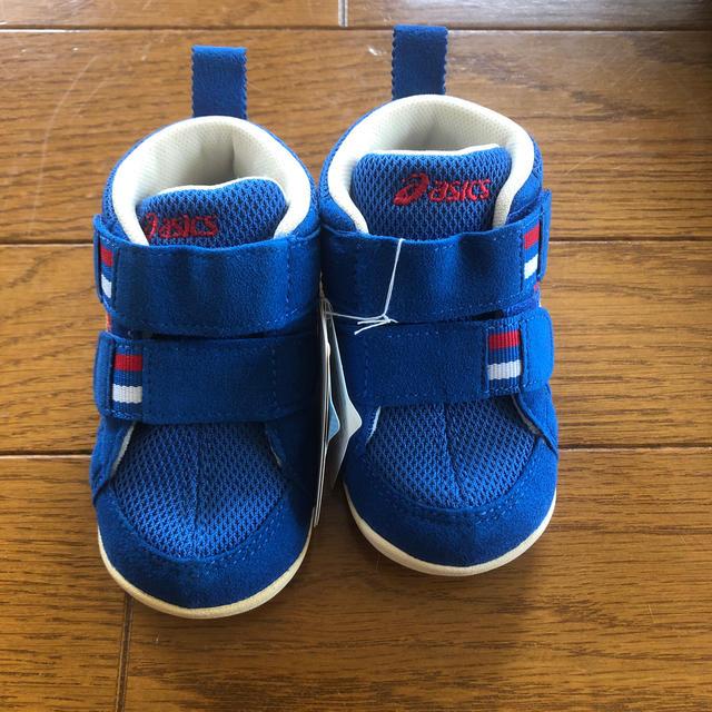 asics(アシックス)のアシックス13㎝スニーカー キッズ/ベビー/マタニティのベビー靴/シューズ(~14cm)(スニーカー)の商品写真