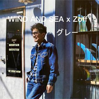 Zoff - WIND AND SEA x Zoff サングラス グレー 木村拓哉 キムタク