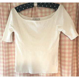 ザラ(ZARA)のニットT ザラ (Tシャツ/カットソー(半袖/袖なし))