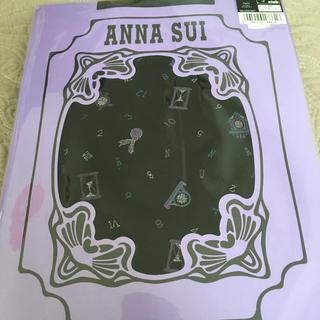 アナスイ(ANNA SUI)のアナスイ 柄タイツ ブラック 80デニール M〜L(タイツ/ストッキング)