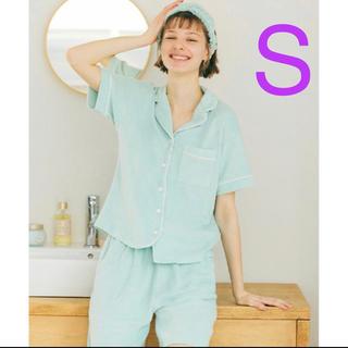ジーユー(GU)のGU SABON パジャマ サボン Mint ミント Sサイズ 6/13まで(パジャマ)