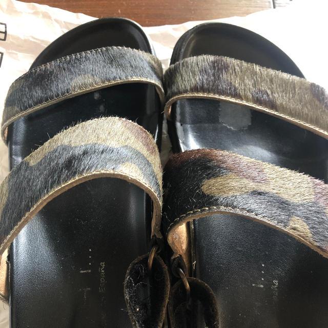 DEUXIEME CLASSE(ドゥーズィエムクラス)のMOHI ハラコ スポーツサンダル レディースの靴/シューズ(サンダル)の商品写真