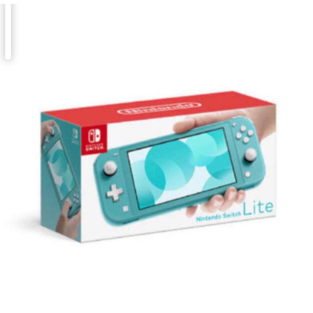 Nintendo Switch(ニンテンドースイッチ)の【新品未使用】Nintendo Switch Lite ターコイズ エンタメ/ホビーのゲームソフト/ゲーム機本体(家庭用ゲーム機本体)の商品写真