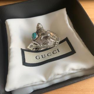 グッチ(Gucci)のGUCCI シルバーリング ウルフ(リング(指輪))