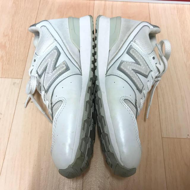 New Balance(ニューバランス)のニューバランス オールホワイト レディースの靴/シューズ(スニーカー)の商品写真