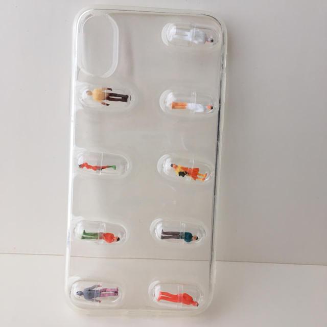 iPhoneXケース 10 アイフォンケース カプセル スマホ/家電/カメラのスマホアクセサリー(iPhoneケース)の商品写真