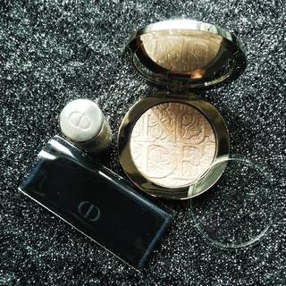 クリスチャンディオール(Christian Dior)のChristian Dior  パウダー  ブラシ  セット(フェイスパウダー)