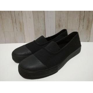 ムジルシリョウヒン(MUJI (無印良品))の無印 スリッポン スニーカー ぺったんこ靴(スリッポン/モカシン)