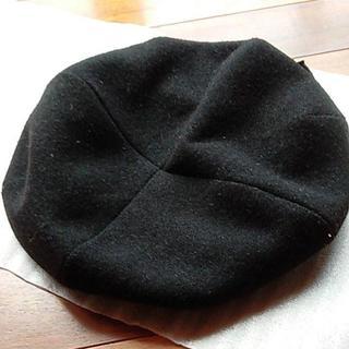 林八百吉商店  ベレー帽 57.5cm 日本製  中古(ハンチング/ベレー帽)