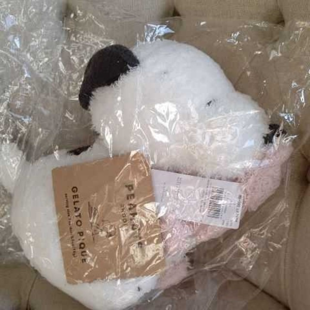 gelato pique(ジェラートピケ)の最終セール!スヌーピーぬいぐるみ エンタメ/ホビーのおもちゃ/ぬいぐるみ(ぬいぐるみ)の商品写真