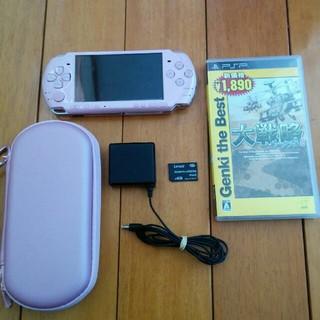 プレイステーションポータブル(PlayStation Portable)のpsp3000(携帯用ゲーム機本体)