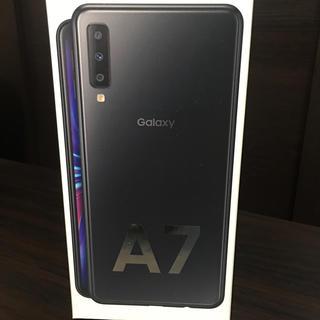 Galaxy - GALAXY A7 ブラック 64GB SIMフリー