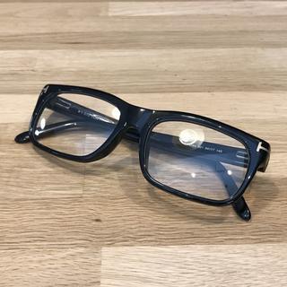 TOM FORD - 超美品 トムフォード 黒ぶちメガネ メガネフレーム TF4284 伊達メガネ