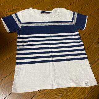 アズールバイマウジー(AZUL by moussy)のAZULby moussy  半袖Tシャツ 130cm(Tシャツ/カットソー)