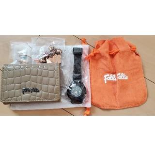 フォリフォリ(Folli Follie)のFolli Follie 時計&ミニ財布(おまけ2個付き)(財布)