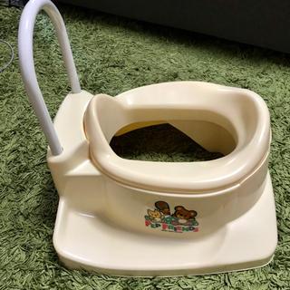 和式便器専用 補助便座★プチッコ おまる トイレトレーニング(補助便座)